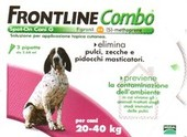 FRONTLINE COMBO Spot on cani 20-40 kg 3 Pipette