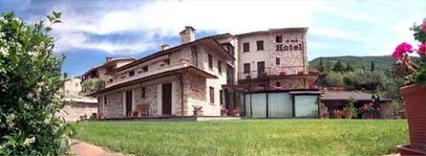 La terrazza Hotel Assisi Centro Benessere Albergo Assisi