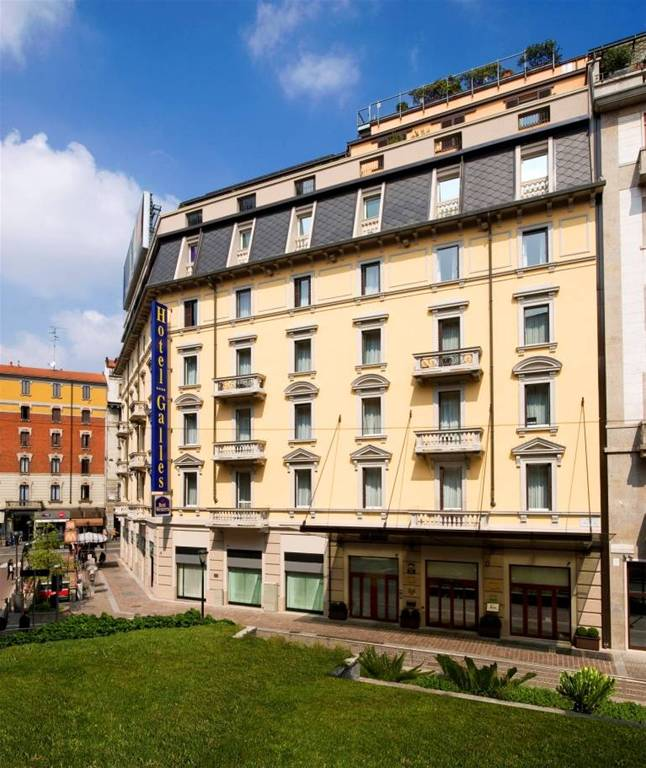 Hotel galles milano for Hotel andreola milano