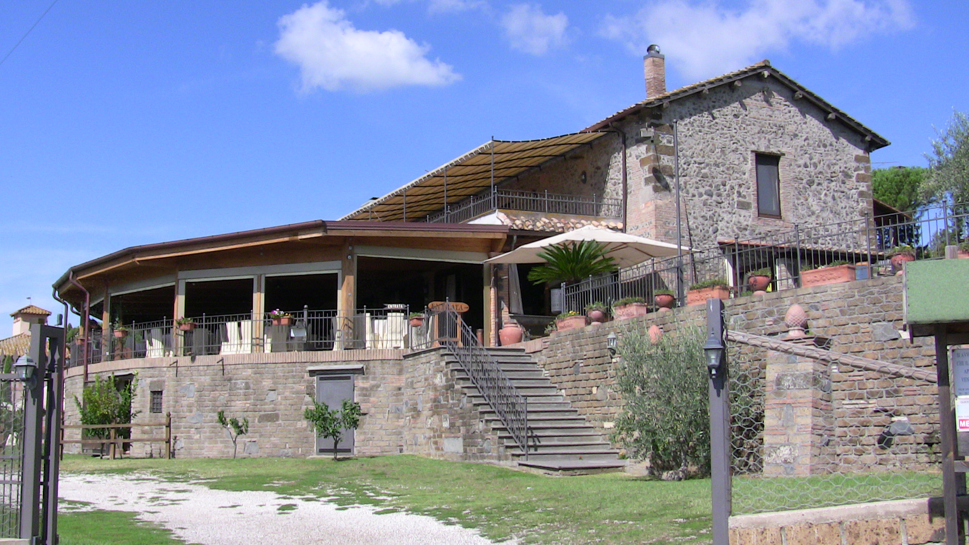 Emejing Ristorante Le Terrazze Sul Lago Trevignano Gallery - Amazing ...
