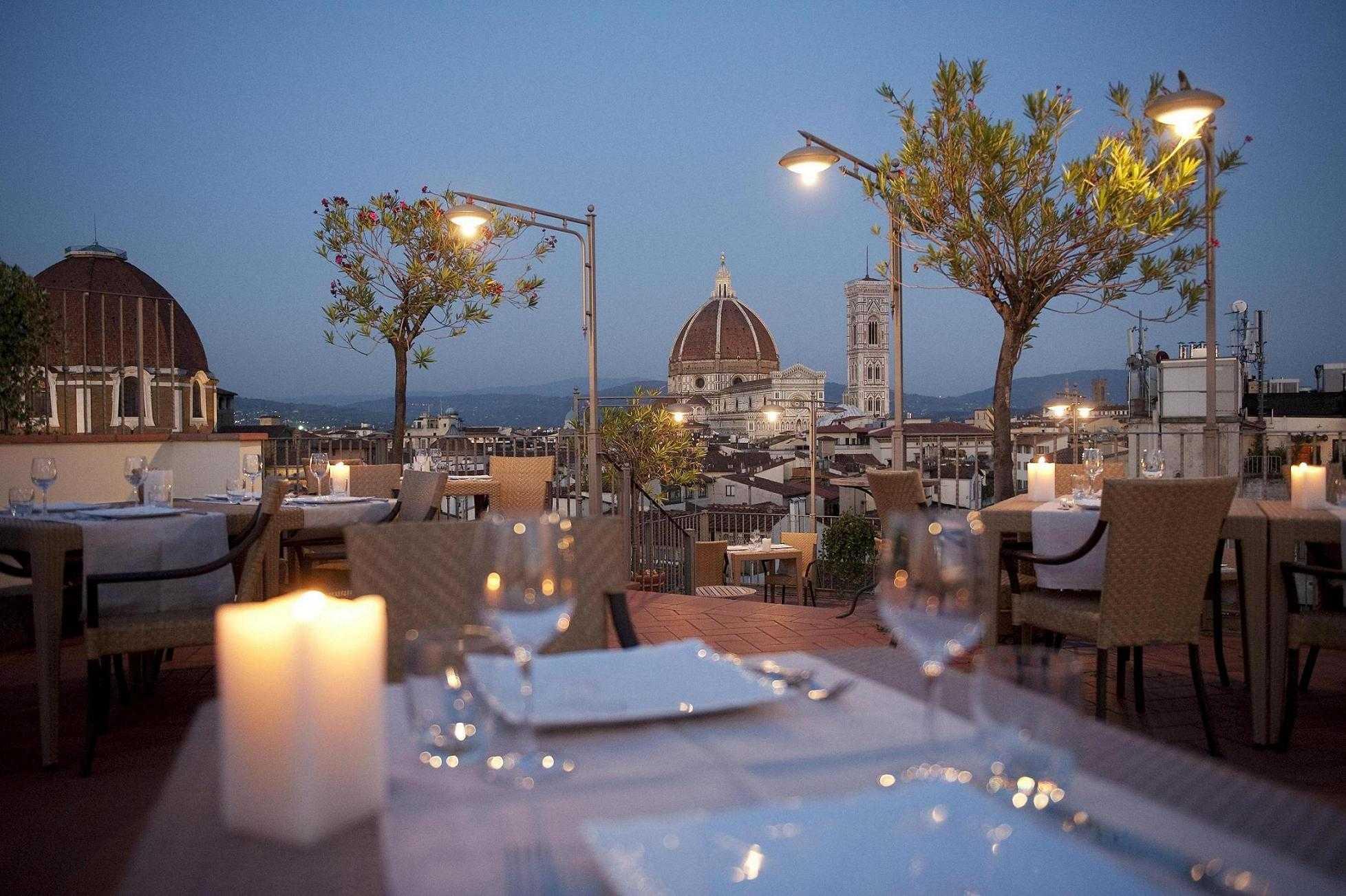 Terrazza Brunelleschi Panoramic Restaurant & Roof Garden - Firenze ...