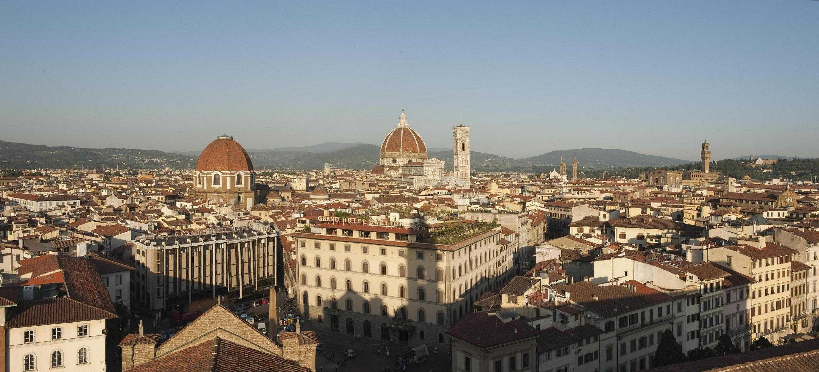 Terrazza Brunelleschi Panoramic Restaurant & Roof Garden - Firenze ...