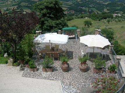 La terrazza Hotel Assisi Centro Benessere Albergo Assisi - Foto 12